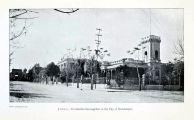 Vista de la calle Hidalgo en 1907