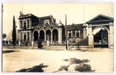 Casa Zuno en 1937. Hoy sigue intacta.