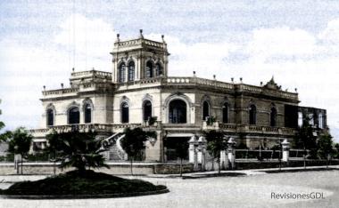 Chalet Nigg-Bell, en la esquina de Vallarta y Chapultepec. Demolido circa 1960.