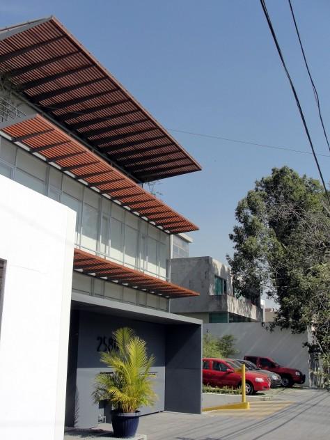 Vista desde Av. La Paz