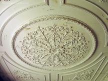 Detalle del techo