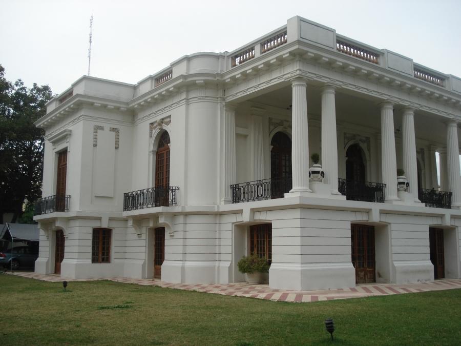 General San Martin 172, detalle de fachada