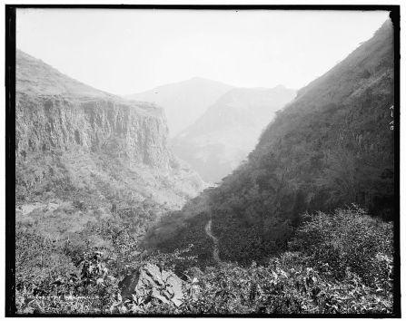 Vista de la barranca de Huentitán