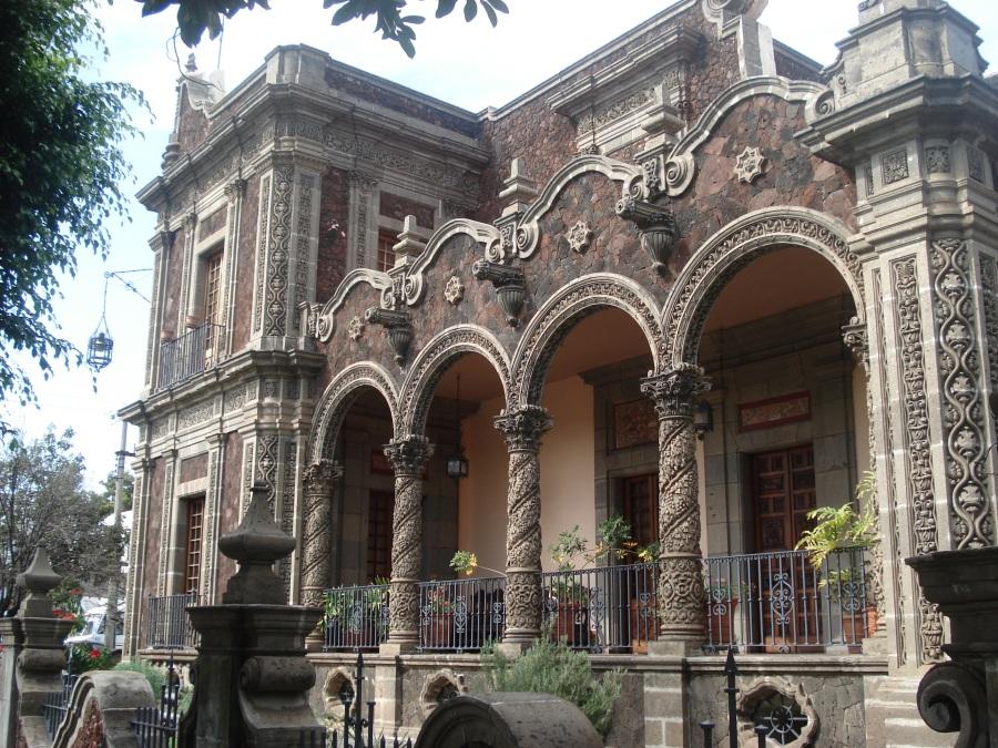 Casa Zuno - Detalle de Fachada