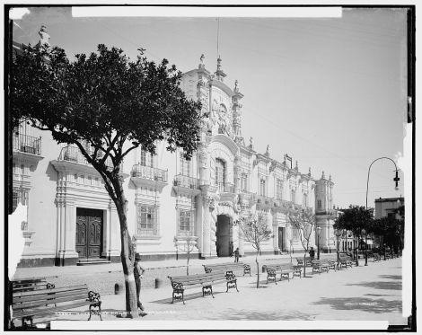 Palacio de Gobierno de Guadalajara, circa 1895