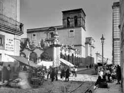 Templo de la Merced, en la esquina de Hidalgo y Pedro Loza.