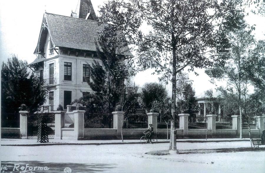 El Chalet Ferreira en los años 1920's