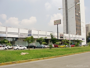 Vista desde Américas del centro comercial