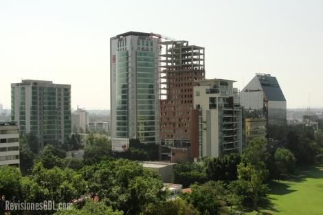 Vista de la Zona Financiera de Guadalajara.