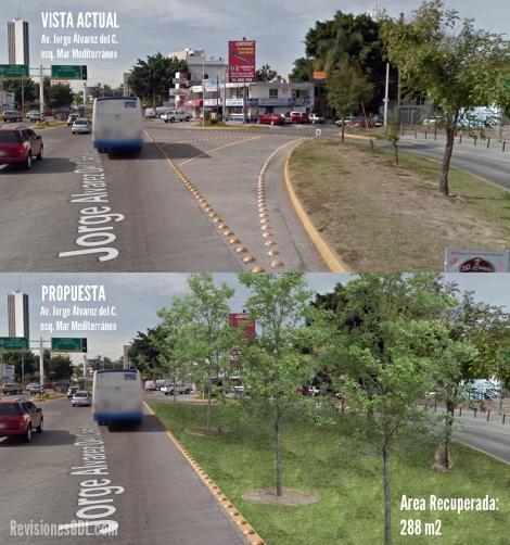 Con esta renovación, ganamos árboles y un mejor entorno visual.