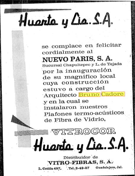 Recorte Informador, 7 abril 1968