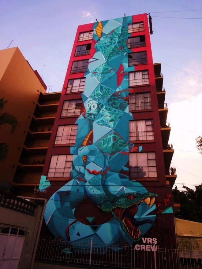Mural. Foto propiedad de: VRS Crew