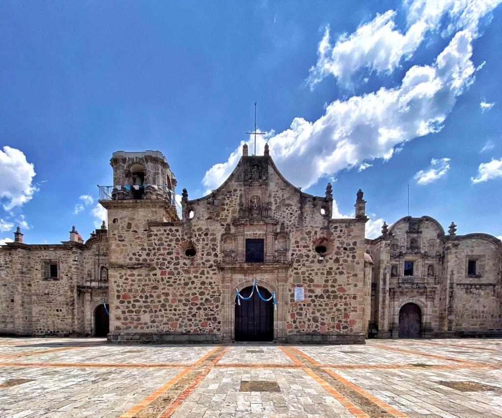 Templo de San Sebastián de Analco, 1543 (Foto: Xavier Iturbide)