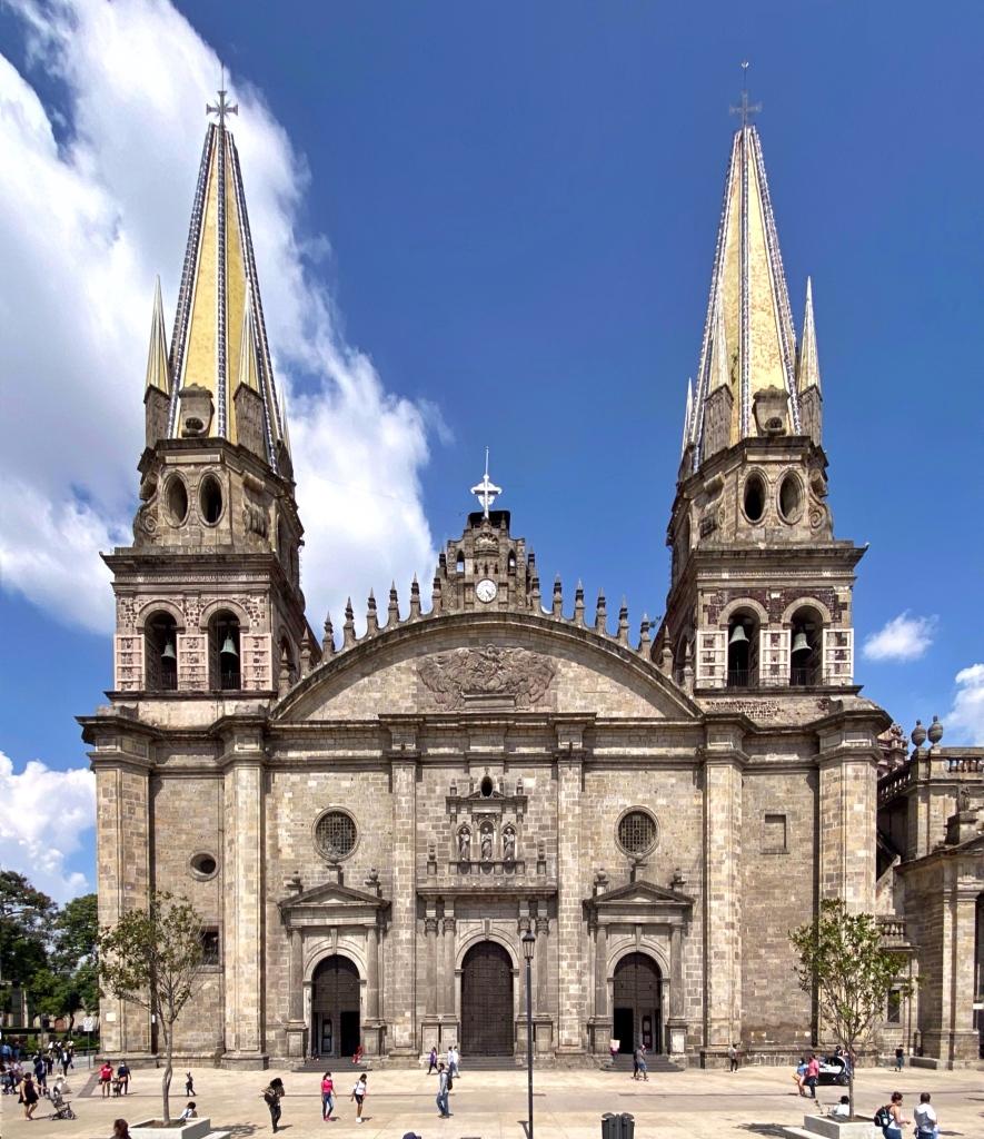 Catedral de Guadalajara, 1561 (Foto: Xavier Iturbide)